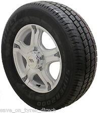 """4 16"""" Silver Alloy Wheels 2256516 Tyres Peugeot Boxer Maxi Van 5x130"""