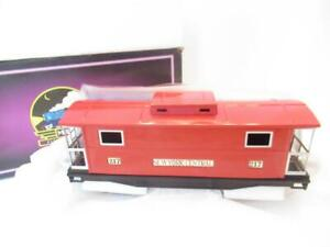 MTH TRAINS STANDARD GAUGE TINPLATE TRADITIONS 10-1054- #217 RED CABOOSE- NEW-D1B