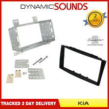 CT23KI05 Car Stereo Double Din Black Fascia Surround For KIA Pro Cee'd 2007 - 09
