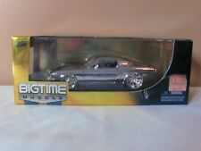 Jada 1:24 Chrome 1967 Mustang Shelby Gt-500 Hobby Exclusive Bigtime Muscle !