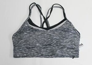 Zyia Active Women's Luxe Strappy Sports Bra Sage MM1 Medium NWT