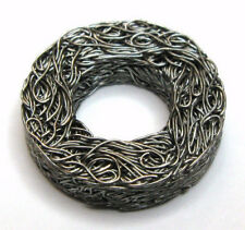 """Vibration Damping Washer, Stainless Steel Wire Mesh, 1/2"""" ID, (Qty 4)"""