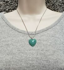 Handmade Turquoise Heart necklace