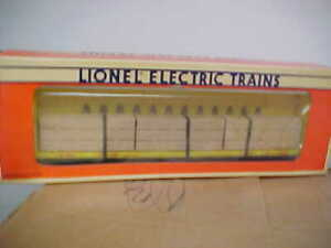 LIONEL,,,,# 16380---UP I BEAM FLATCAR WITH LOAD