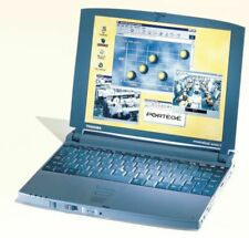 Toshiba Portege 3110CT Ultraportable Thin Laptop Notebook Computer Windows 98