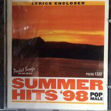 Pocket Songs Karaoke Summer Hits 98 Pop Pscdg 1322