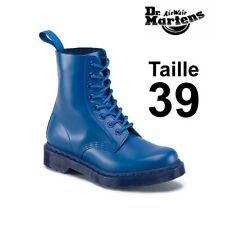 33f18e75247 Dr Martens 1460 pascal mono blue smooth taille 39 EU 6 UK New in Box