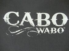 CABO WABO - SAMMY HAGAR'S CLUB IN MEXICO - XL - BLACK T-SHIRT- D390