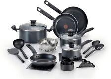 18 Piece Cookware Set Lids Fry Pan Saucepan Dutch Oven Non Stick Even Heating