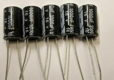 Radial Electrolytic Caps-105°C -5 pcs- Any Value-(0.1uF-1000uF)10-50V-MrCircuit