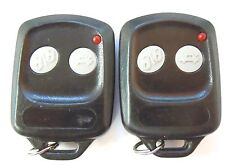 Lot of Two OARTXAM01 Aftermarket Remote Control Keyless Astra Fob Transmitter