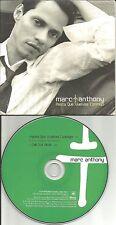 MARC ANTHONY Hasta Que Vuelvas Conmigo CARD SLEEEVE 2002 PROMO DJ CD single