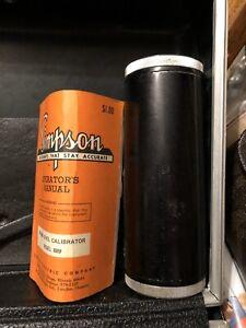 Simpson 889 sound level calibrator
