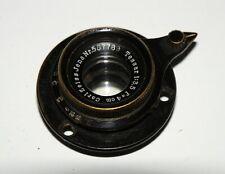 VERY EARLY VERY RARE CARL ZEISS JENA TESSAR 4cm f/3.5  35mm Film Movie Cine Lens