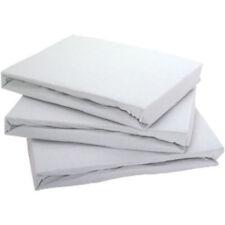 Sábanas bajeras color principal blanco 100% algodón