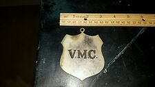 ROYAL ARCANUM MASONIC VMC METAL PLAQUE EMBLEM INSIGNIAL LOOK!