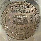 CANADA MOLSON TOKEN SOU 1837 LC-16A3 BRETON 562 - PCGS MS62BN