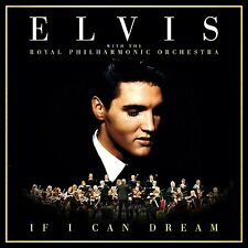 ELVIS PRESLEY IF I CAN DREAM CD ALBUM (Released 2015)