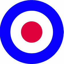 British RAF Plane Roundel Style Decal Exterior Vinyl Aircraft Stickers Transfers