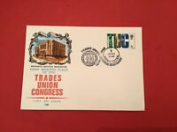 U.K Trades Union Congress Manchester 1968 FDC Special Cancel stamp cover R36103