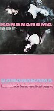 CD Single Bananarama	ONLY YOUR LOVE 12-TRACK CARD SLEEVE REMIXES