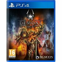 Demons Age PS4 Game Playstation 4 PAL New & Sealed Quick Dispatch Free Post