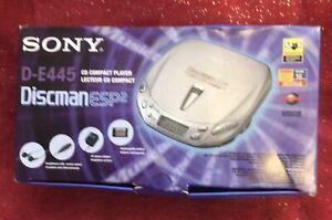 Sony D-E445 Discman ESP2 CD Compact Player Brand New