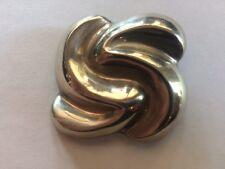 Sterling Silver Modern Design Pin