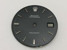 ROLEX VINTAGE 6694 PRECISION WATCH BLACK GRIS DIAL 28 MM (GOOD & ORIGINAL)