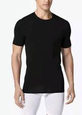 NEW TOMMY JOHN MENS COTTON BASICS CREW NECK TEE SHIRT BLACK Size XXL