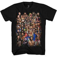 WWE Group Shot Cena Styles Bryan Adult Tee Graphic T-Shirt for Men Tshirt