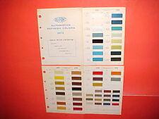 1971 CHEVROLET CORVETTE PONTIAC BUICK OLDSMOBILE EXTERIOR+INTERIOR PAINT CHIPS