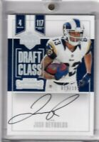 Josh Reynolds 2017 Contenders Draft Class Silver Rc On Card Auto Sp #ed 19/199