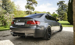 Full Carbon Rear Spoiler P style FOR BMW 3 Series COUPE E92 M3 323i 325i 335i 2D