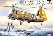 AMODEL 72137 HELICOPTER HUP2/HUP3 SCALE MODEL KIT 1/72 NEW