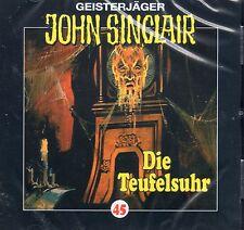 JOHN SINCLAIR - Teil 45 - Die Teufelsuhr - AUDIO CD - NEU OVP