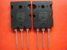 1PAIR, NEW 2SA1302 + 2SC3281 TOSHIBA PNP TRANSISTORS