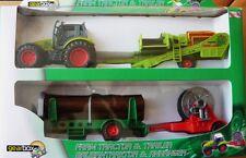 Tranktoren,Farmer Set für die kleinen Bauern in einer Geschenkbox