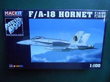 ARMOUR FRANKLIN NEUWERTIG MACKIT KIT METALL 1/100 FLUGZEUG F/A-18 HORNET MIB