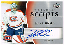 06-07 Trilogy SCRIPTS David AEBISCHER #TS-DA - Canadiens