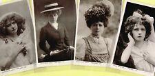 ☆ EDWARDIAN THEATRE ACTRESS / DANCER - MABEL LOVE ☆ 1900s Postcards LIST 26