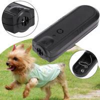 Ultrasonic Dog Repeller Animal Training Device Pet Anti Barking Trainer