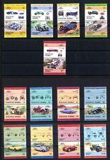 Nukufetau ex 1/54 ** Autos I - II komplett u.a. Ford GT 40 Mark 2