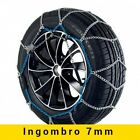 CATENE DA NEVE VERIGA 7mm ALTA QUALITA' Gr.100 BMW Serie 1 225/45-17