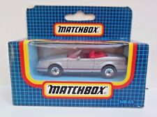 VINTAGE  MATCHBOX CARS CADILLAC ALLANTE CONVERTIBLE  1987 ISSUE