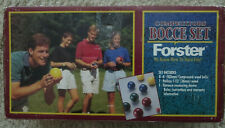 Vintage Forster Competitors Bocce Ball Yard Set NIOP (NEVER USED) Made In USA