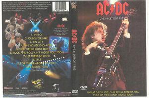 AC/DC: Detroit,MI 1983