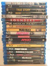 Blu-Ray Movie Drama Lot of 20 Mad Max American Psycho Fight Club Prisoners Argo