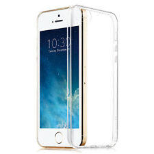 For iPhone SE 5 Clear Silicone Case Slim Soft Genuine Ultra Thin Back Skin Cover