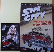 SIN CITY :AFFARI DI FAMIGLIA (F.Miller) -25%  in Omaggio la Cartolina del film